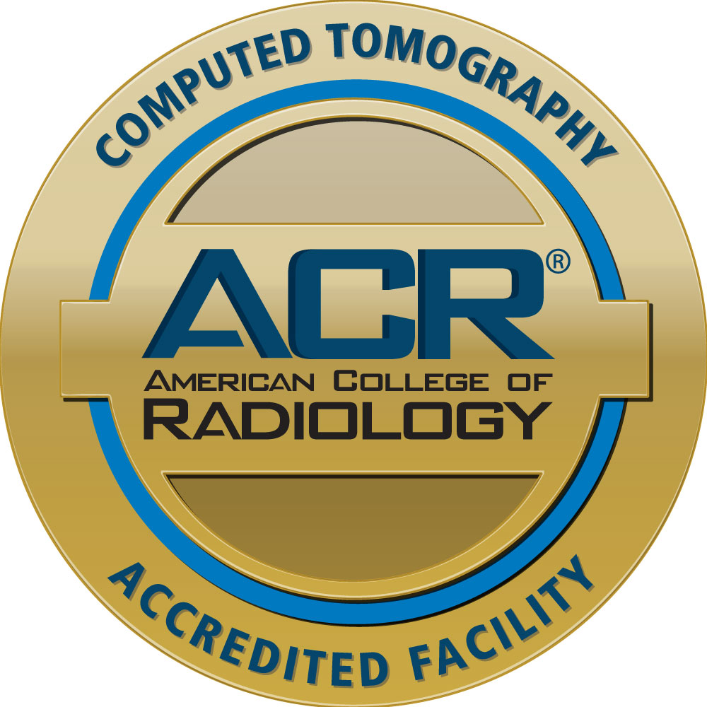American College of Radiology Computed Tomography Accredited Facility seal