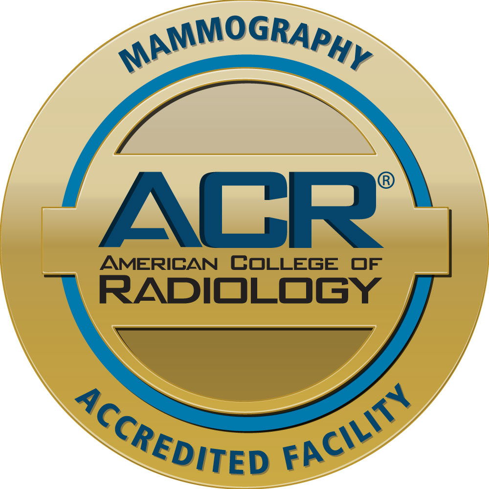 American College of Radiology Mammography Accredited Facility seal