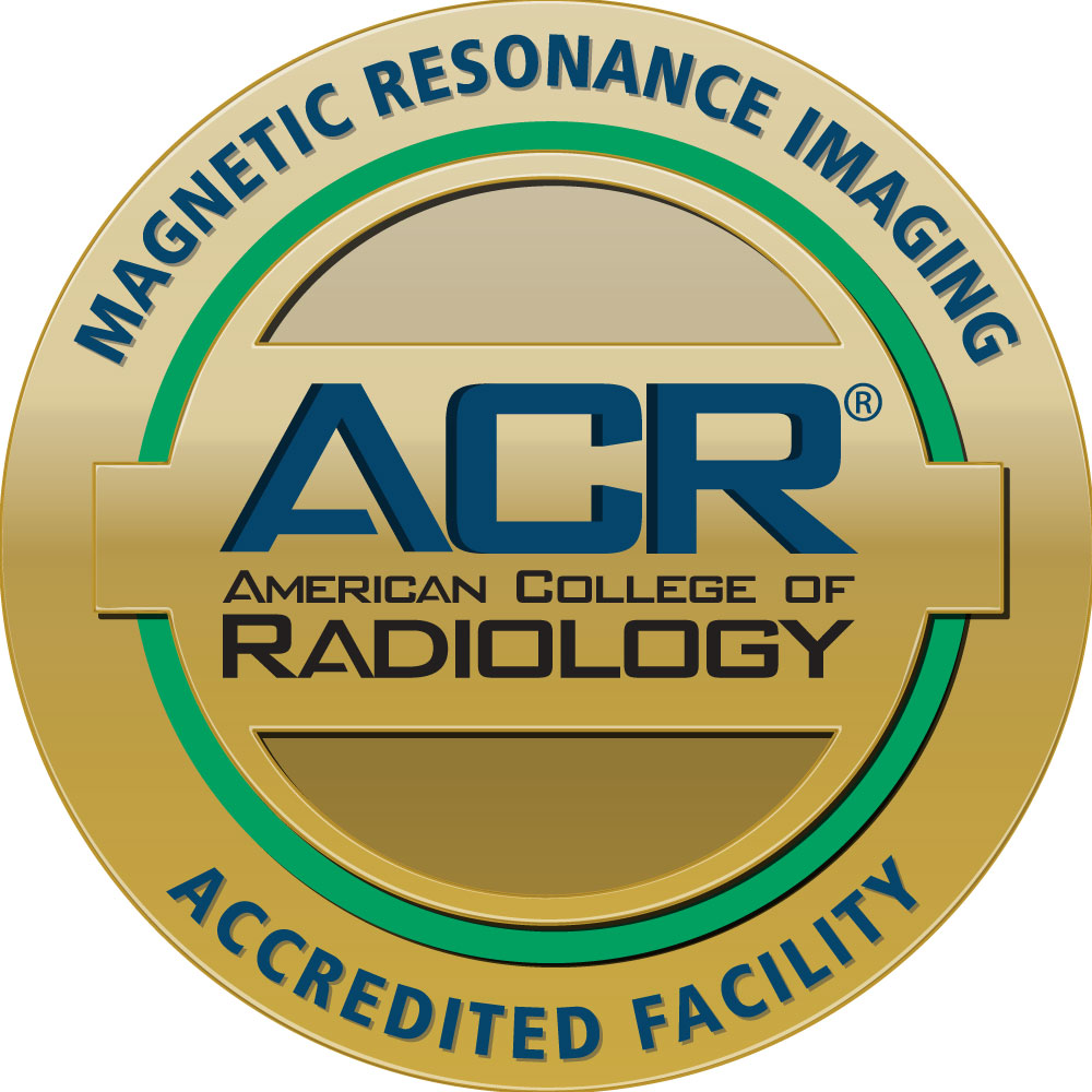 American College of Radiology Magnetic Resonance Imaging Accredited Facility seal